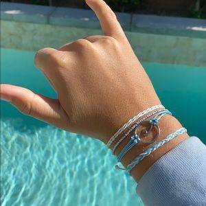 🍇🌿Handmade Wave Adjustable Bracelet Set🌿🍇
